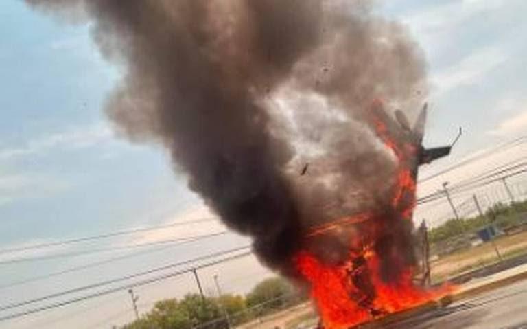 Accidentes de Aeronaves (Civiles) Noticias,comentarios,fotos,videos.  - Página 21 Helicoptero%20cae%20aeropuerto%20Nuevo%20Leon